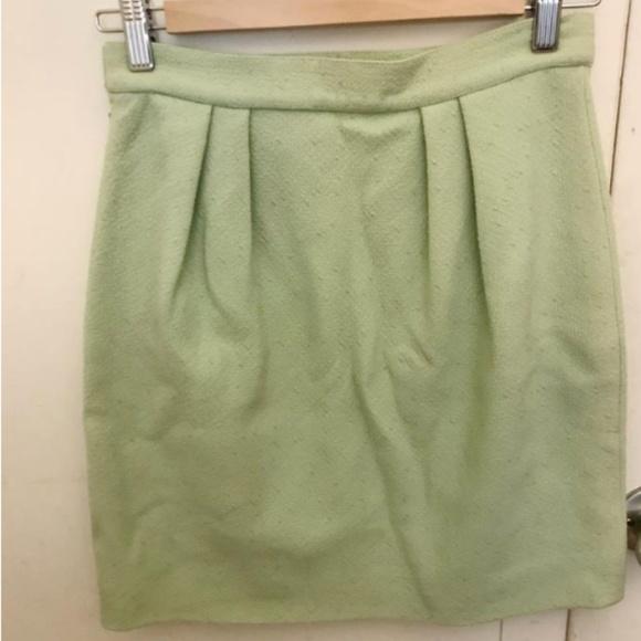 d2e956b0cd Versace Skirts | Mint Green Vintage Gianni Tweed Skirt | Poshmark